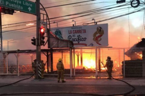 Incendio en La Carreta fue provocado, confirma Fiscal General