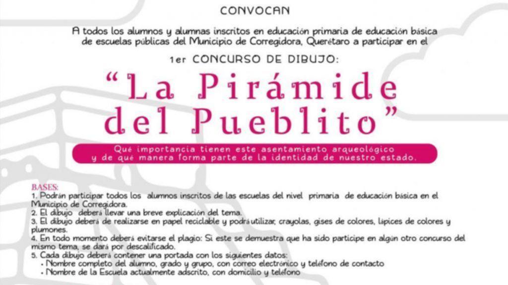 y Municipio de Corregidora convocan a los concursos de dibujo y